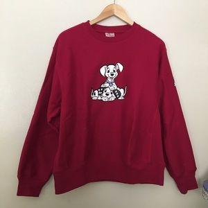 Vintage Disney sweatshirt 102 Dalmatians M unisex